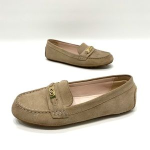 Cole Haan tan suede women's loafers size 7.5 B